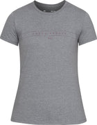 UA: Women's Graphic Classic Tee, Grey/Purple