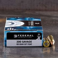 Federal 300 Savage 180gr Hi Shok SP