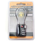 Axiom TSA Approved 30mm Cable Lock Blk XCL9