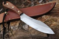 Grohnmann Knives #R4S Survival Knife Rosewood Sheath