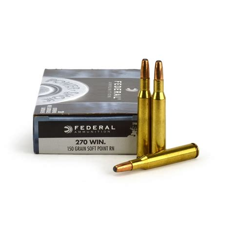 Federal 270 WIN 150gr SP