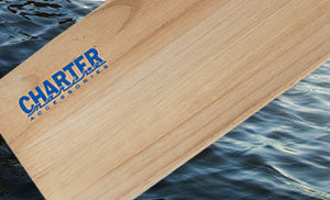 Charter marine accessories wood Paddle: 60""