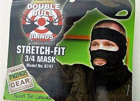 primos stretch fit black mask #6747