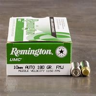 Remington .UMC 10mm Auto 180gr Full Metal Jacket