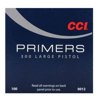 CCI 300 STD Large Pistol Primers (100pk)