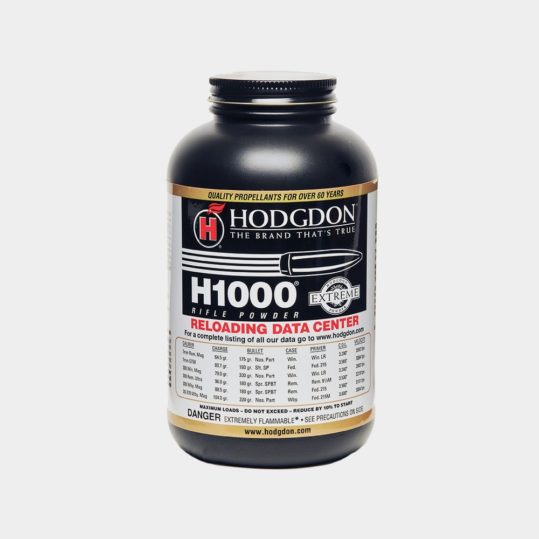Hodgdon H1000 Powder 1lb