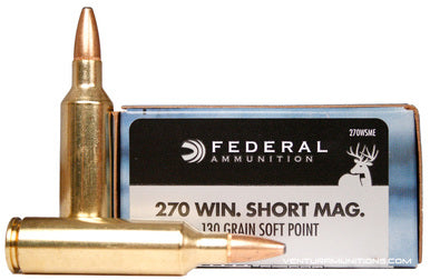 Federal Power Shok .270Win 130gr Soft Point
