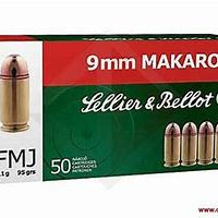 Sellier & Bellot 9MM Makarov FMJ