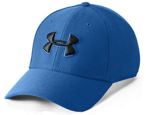 UA:Men's Bliztering Cap BLue, Size L/XL