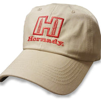 Hornady Hat Beige/ Red, One Size