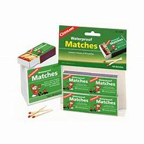 Coghlan's Waterproof Matches, 4PK #940BP