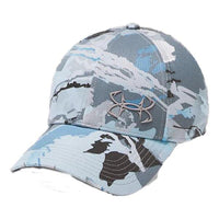 UA: Men's Thermocline Camo Cap, Blue/Grey Size L/XL