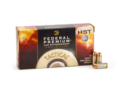 Federal Tactical HST .40 S&W 180gr HYDRA JHP 50rd