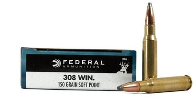 Federal 308 150gr Soft Point #308A