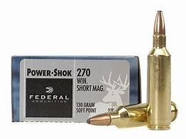 Federal 270 Win., 130 gr soft point