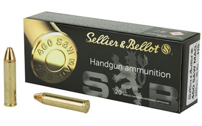 Sellier & Bellot .460 S&W 255gr JHP 20 Round box
