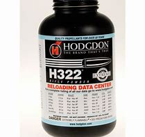Hodgdon H322 Powder 1LB