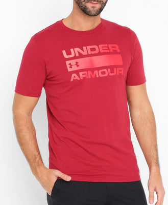 UA: Men's Team Issue Wordmark, Red