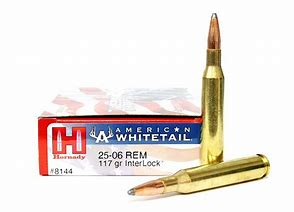 Hornady American Whitetail 25-06 Rem 117 Gr Interlock