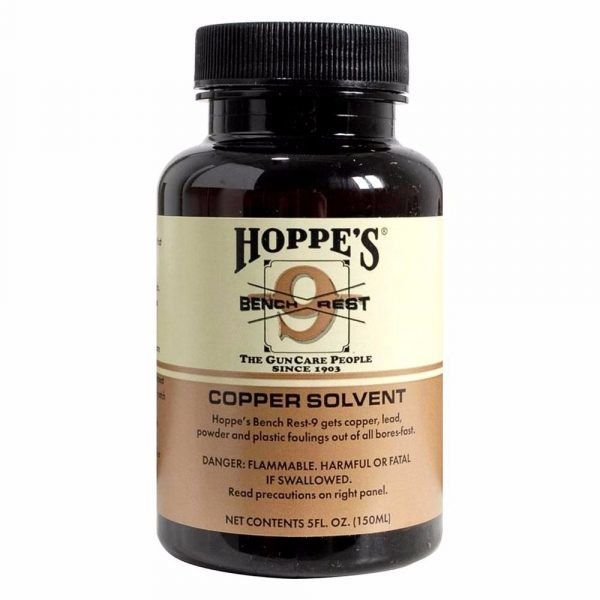 Hoppe's Bench Rest 9 Copper Solvent, 5 oz.
