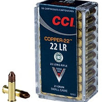 CCI 22LR 22-Copper 21gr 50rd