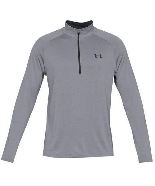 UA: Men's Tech 2.0 1/2 Zip, Grey