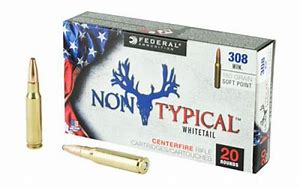 Federal .308 Win 180gr Non Typical Soft Point