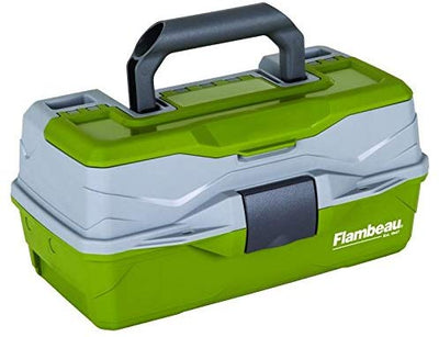 Flambeau 1 Tray Tackle Box Green