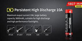 Klarus: 18650GT 3600mAh High Current Charge/Discharge