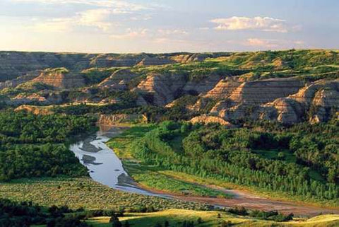 Theodore Roosevelt National Park, North Dakota: