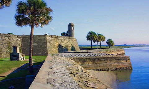 castillo de san marcos national monument st. augustine, florida
