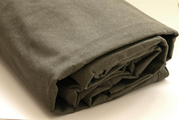 Quick and Easy to Tie Down Canvas Tarp Covers with stainless steel rustproof grommets