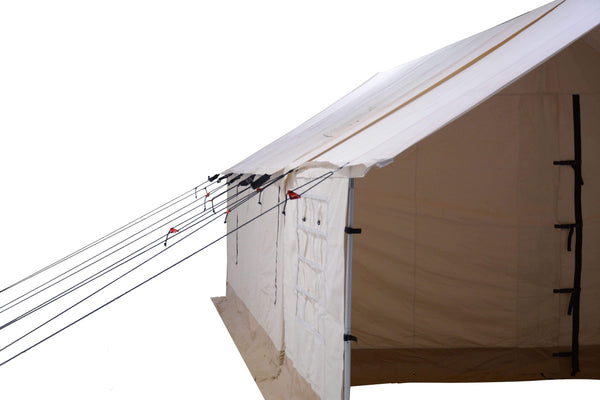 16'x20' Porch - Canvas Wall Tent - White Duck Outdoors