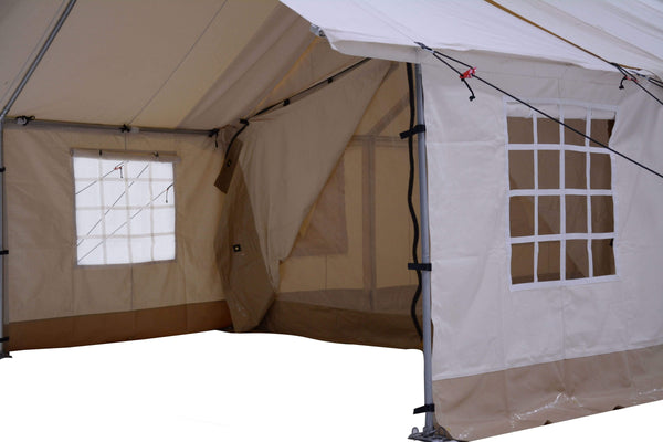 12'x14' Porch - Canvas Wall Tent - White Duck Outdoors