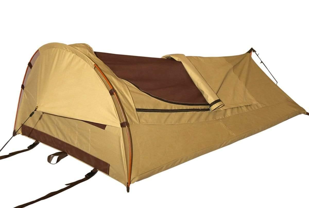 promo code 76b46 4801e Canvas Swags | Swag Tent for Camping | Canvas Swag