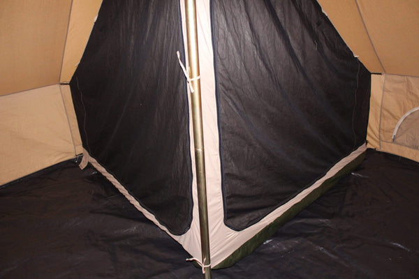 Quarter 1/4 Inner Tent | Canvas Bell Tent Accessories | Inner Room - White Duck Outdoors