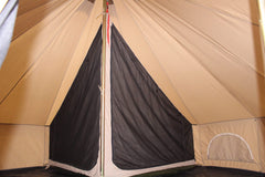 Quarter 1/4 Inner Tent | Canvas Bell Tent Accessories | Inner Room for Regatta Bell Tent