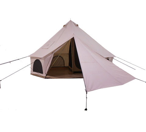 Bell Tent Canvas Triangular Tarp | Canvas Canopy | Canvas Shade