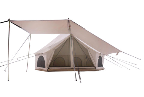 Bell Tent Canvas Awning | Canvas Canopy | Canvas Shade