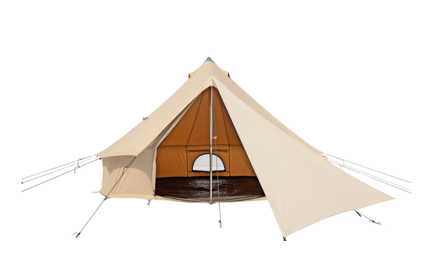Regatta Bell Tent Triangular Tarp - White Duck Outdoors
