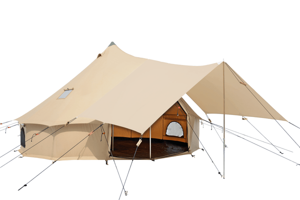 Regatta Bell Tent Awning - White Duck Outdoors