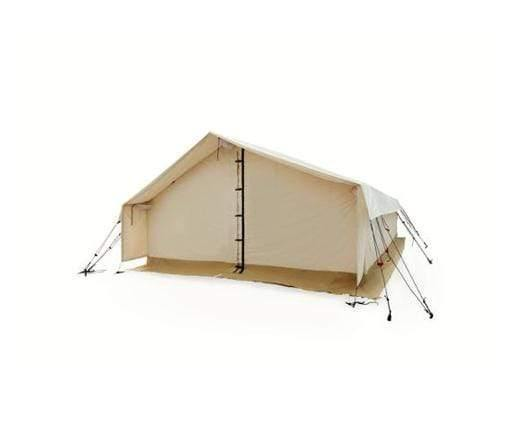 CANVAS ALPHA WALL TENT (WATER REPELLENT) WITH 2 SLEEPING MATS + 2 BLANKETS + 1 TENT ORGANIZER + 1 POCKET ORGANIZER