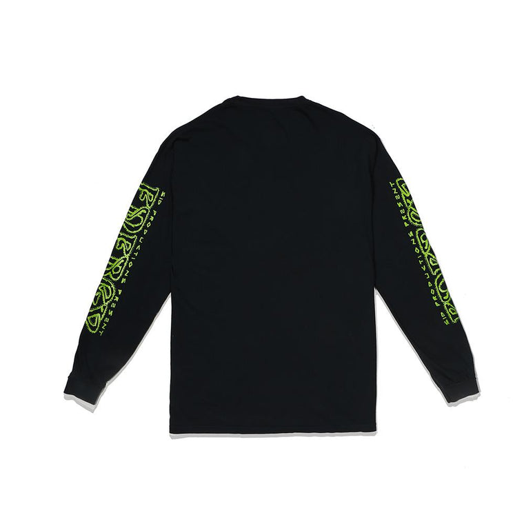 SURF IS DEAD PSYCHIC SURF L/S -BLACK