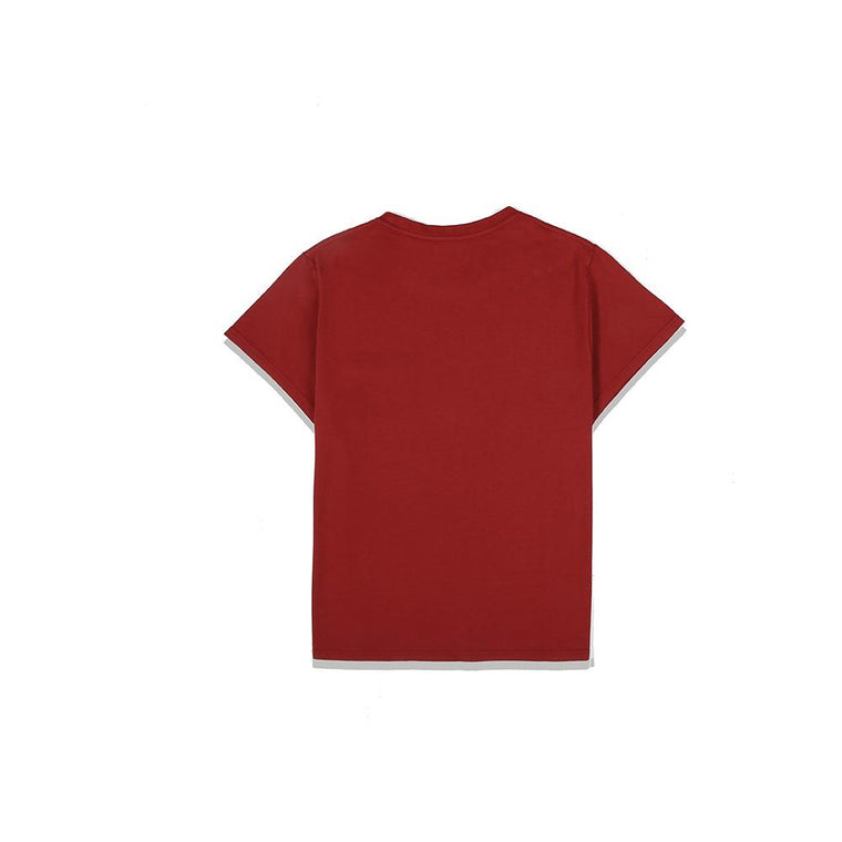 Second Layer PADOVANE POCKET T-SHIRT -RED