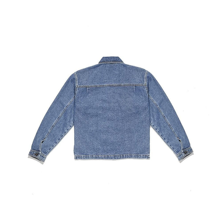 Second Layer DENIM TRUCKER JACKET -DENIM