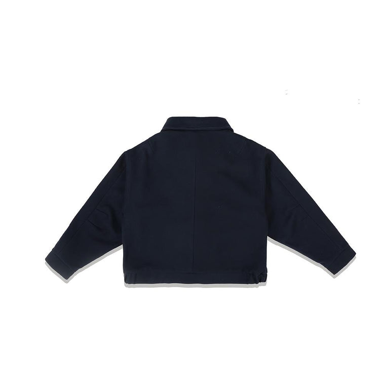 Second Layer BARRAS BLOUSON -NAVY