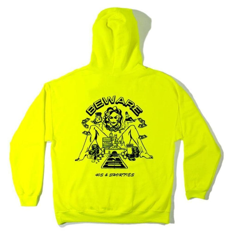 40'S AND SHORTIES FAST LANE HOODIE -GREEN