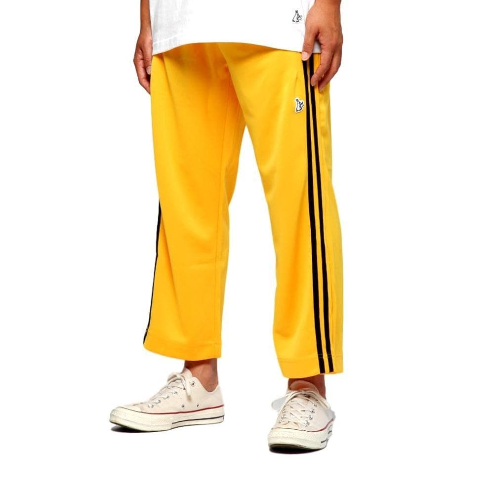 34ae9055ae8 FUCKING RABBIT SNAP JERSEY PANTS -YELLOW - Popcorn General Store