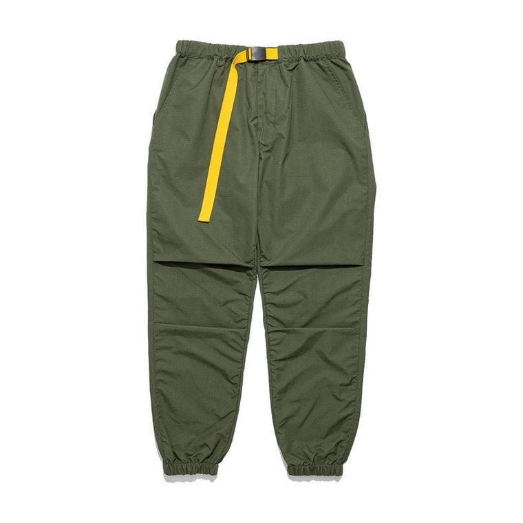 CLOT TEE BUCKLE RIPSTOP PANTS-GREEN
