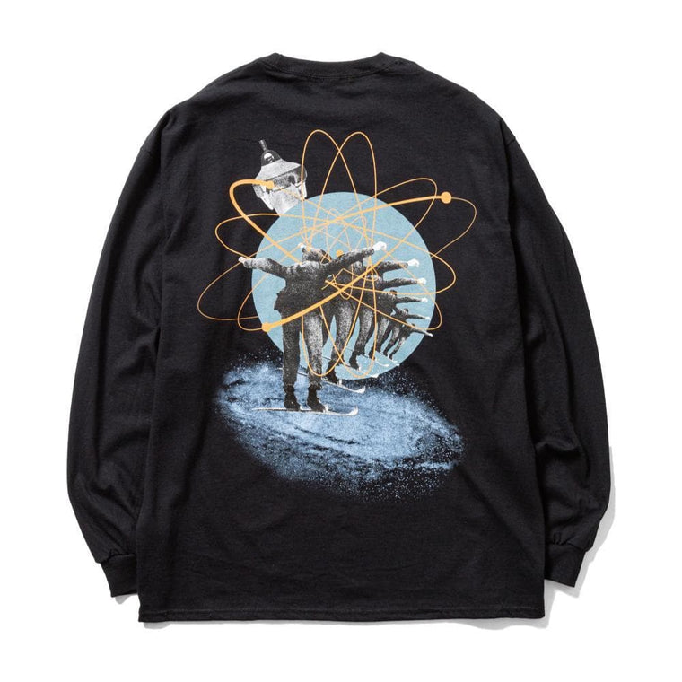Flagstuff FLY L/S TEE-BLACK